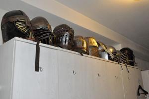 Schwertkampf in Wien: Bequeme Hutablage