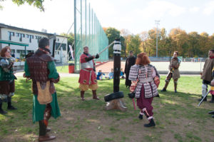 SCA Heavy Fighting instruction