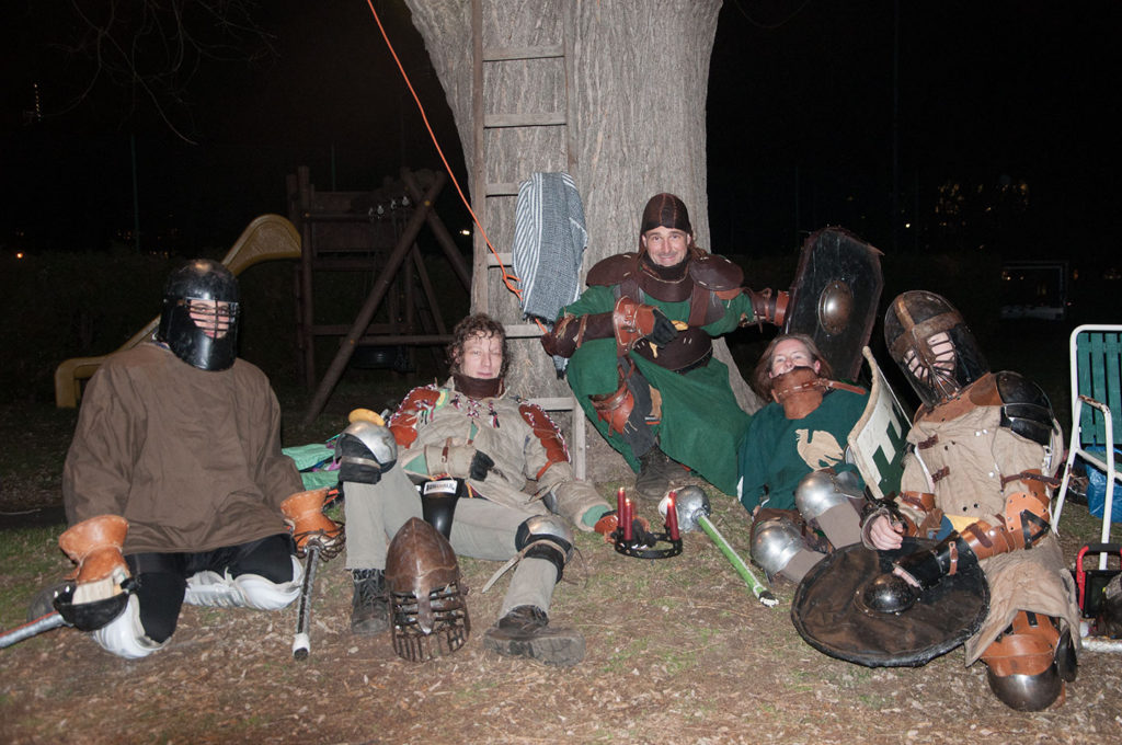 SCA Heavy Fighters with Candlelight